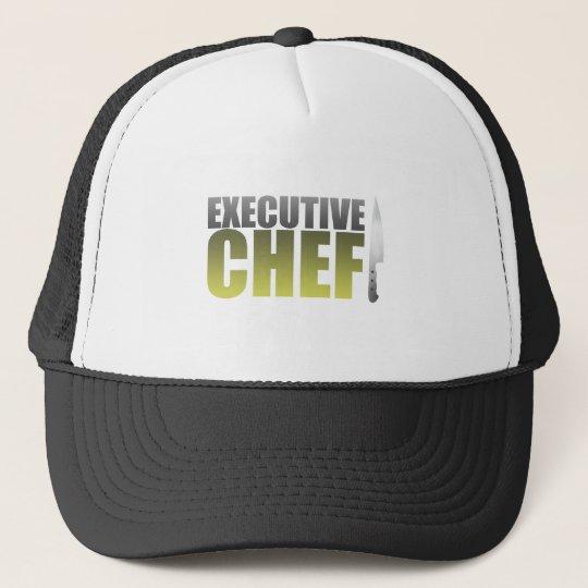 Yellow Executive Chef Trucker Hat
