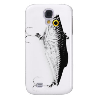 Yellow Eyed Fishing Lure Samsung Galaxy S4 Cases