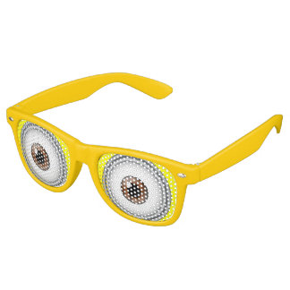 Yellow Eyes Cartoon Goggle Party Costume Glasses Retro Sunglasses