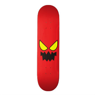 Yellow Eyes on Network Skate Skateboard