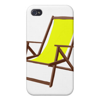 yellow fabric beach chair.png iPhone 4 cases