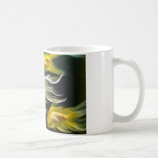 Yellow Fancy Aquarium Goldfish Coffee Mug