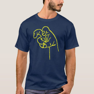 Yellow Fang Fingers T-Shirt