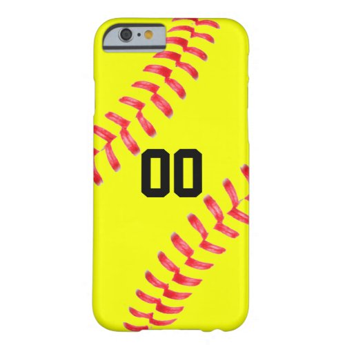 Yellow Fastpitch Softball Custom iPhone Case Cover Phone Case