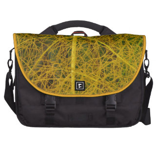 Yellow Fennel Plant Bags For Laptop