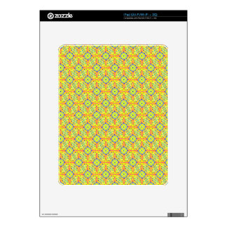 Yellow Festival Pattern iPad Skin