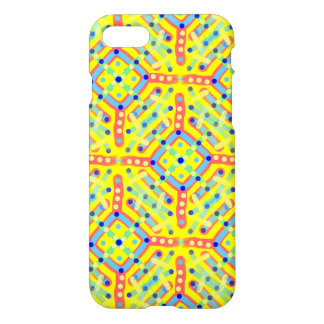 Yellow Festival Pattern iPhone 7 Case