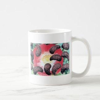 Yellow Field poppy seeds (Papaver rhoeas) flowers Coffee Mug