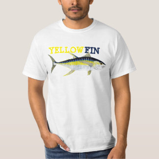 Yellow Fin Tune apparel T-Shirt