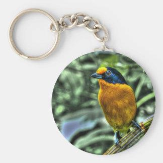 Yellow Finch Key Chain