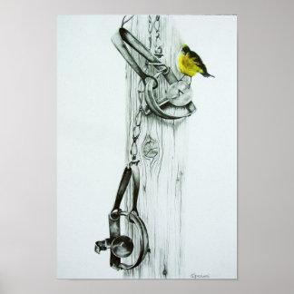 """Yellow Finch"" Print"