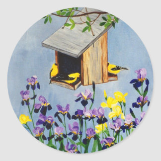 Yellow Finch Sticker