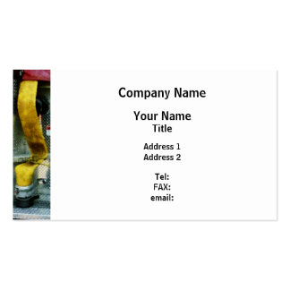 Yellow Fire Hose Business Card