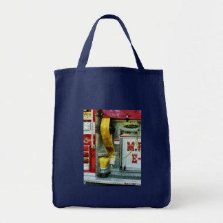 Yellow Fire Hose Tote Bag