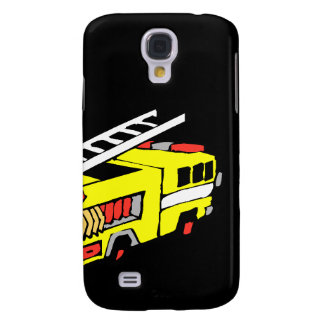 Yellow Fire Truck Galaxy S4 Cover