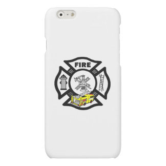 Yellow Fire Truck Rescue Matte iPhone 6 Case