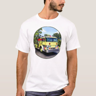 Yellow Fire Truck T-Shirt