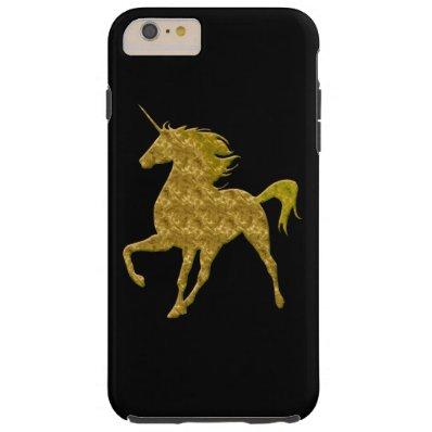 Yellow Fire Unicorn iPhone 6 Case