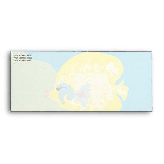 Yellow Fish Envelope