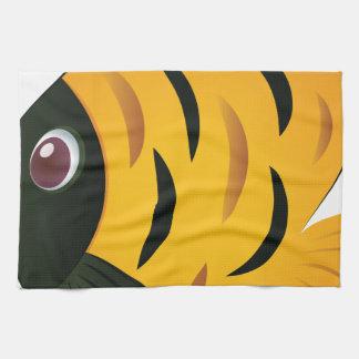 Yellow Fish Kitchen Towels