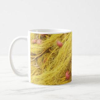 Yellow Fishing Nets (Greece) Coffee Mug
