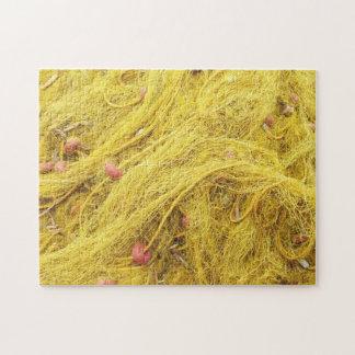 Yellow Fishing Nets (Greece) Jigsaw Puzzle