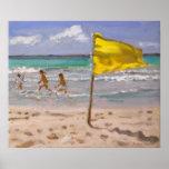 Yellow Flag Barbados 2010 Poster