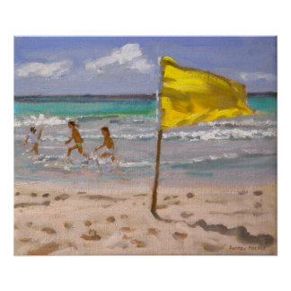 Yellow Flag Barbados 2010 Poster