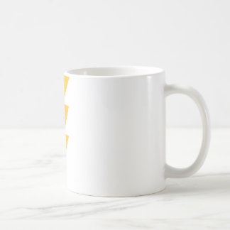 Yellow Flash Lightning Bolt Coffee Mug