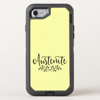 Yellow Floral Austenite OtterBox Defender iPhone 7 Case
