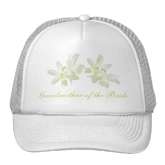 Yellow Floral Grandmother of the Bride Hat