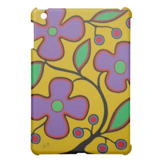 Yellow Floral iPad Mini Covers