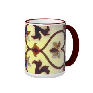 Yellow Floral pattern Mug