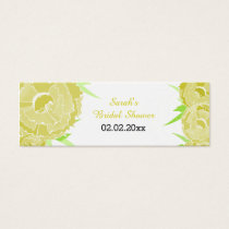 yellow floral Personalized Gift Tags