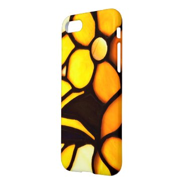 McTiffany Tiffany Aqua Yellow Floral Tiffany Look iPhone 7 Case