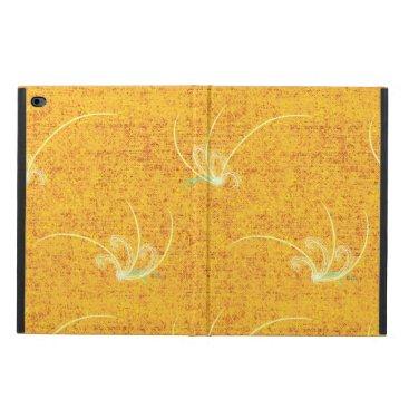 Yellow Flourishes Powis iPad Air 2 Case
