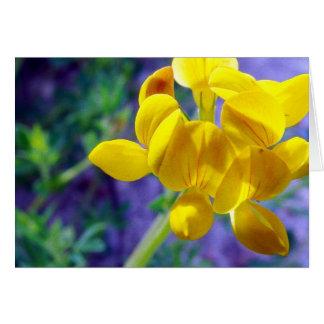 Yellow Flower 2 Card