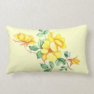 YELLOW FLOWER American MoJo Pillow