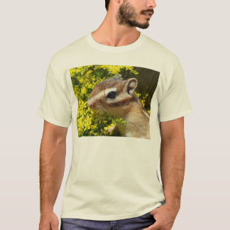 Yellow flower and Chipmunk (1) T-Shirt