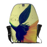 Yellow flower bag Design Courier Bag