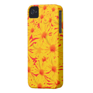 Yellow Flower Blackberry Bold Case