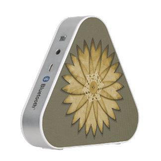 Yellow Flower Bluetooth Speaker