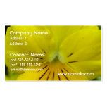 Yellow Flower Business Card Templates