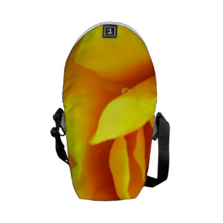 Yellow Flower Close up Courier Bag