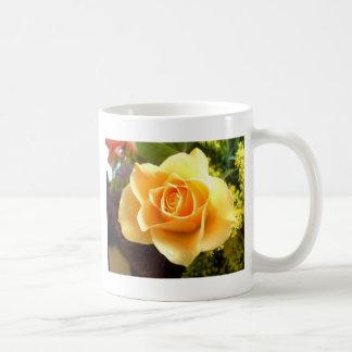 Yellow Flower Closeup Coffee Mug