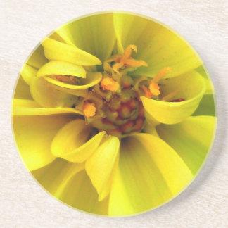 Yellow Flower - Coaster / Untersetzer