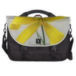 yellow flower commuter bags
