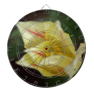 Yellow Flower Dart Board