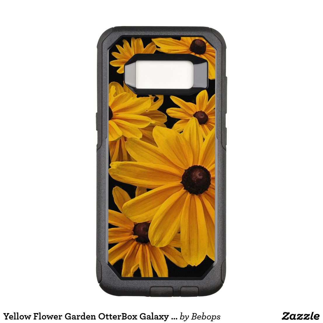 Yellow Flower Garden OtterBox Galaxy S8 Case
