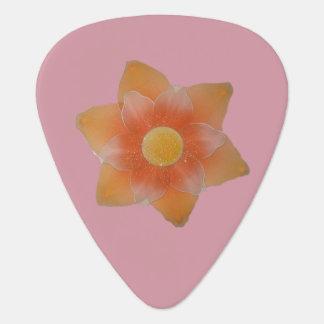 Yellow Flower Guitar Pick